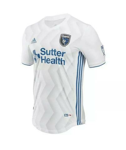 adidas Men's San Jose Earthquakes White 2019 Secondary Jersey - Teammvpsports