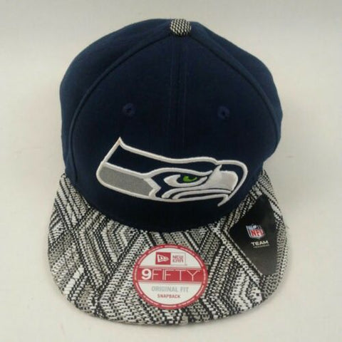 New Era Seattle Seahawks 9FIFTY Tricked Trim Snapback Cap - Teammvpsports