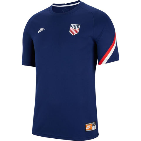 Nike 2020-21 USA Womens Dri-Fit Short Sleeve Soccer Top