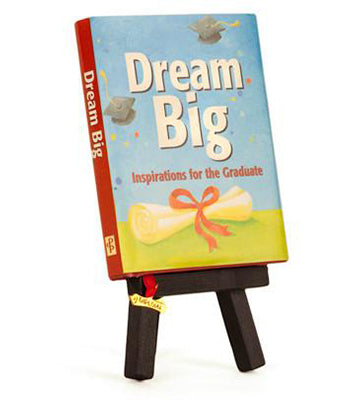 Dream Big - Inspirations for the Graduate - Unique Heartfelt Books - Send A Hug