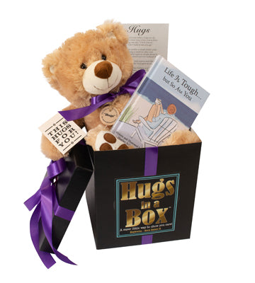 Hang in there hugs box