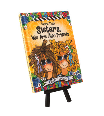 More than sisters we are also friends miniature book