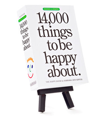 14,000 Things To Be Happy About - Unique Heartfelt Books - Send A Hug