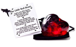 The Little Red Heart - Unique Keepsakes - Send A Hug