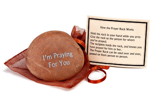 Praying for You Care Stone - Unique Keepsakes - Send A Hug