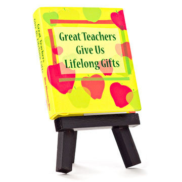Great Teachers Give Us Lifelong Gifts - Unique Heartfelt Books - Send A Hug
