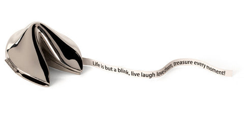 "Fortune Cookie ""Life Is But A Blink"" - Unique Keepsakes - Send A Hug"