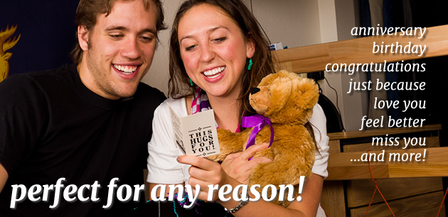 Great gifts! Get well teddy bear gifts. Send a teddy bear gift for any occasion.