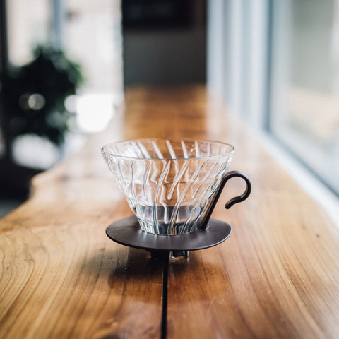 V60 Coffee Dripper (glass)