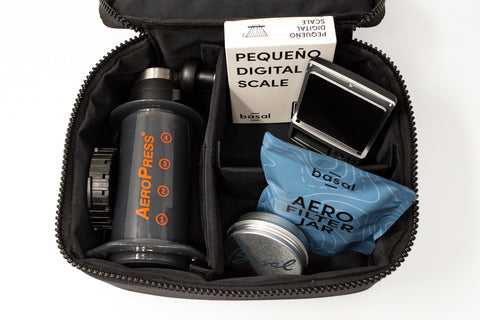 Basal Coffee Travel Bag (Complete Kit)