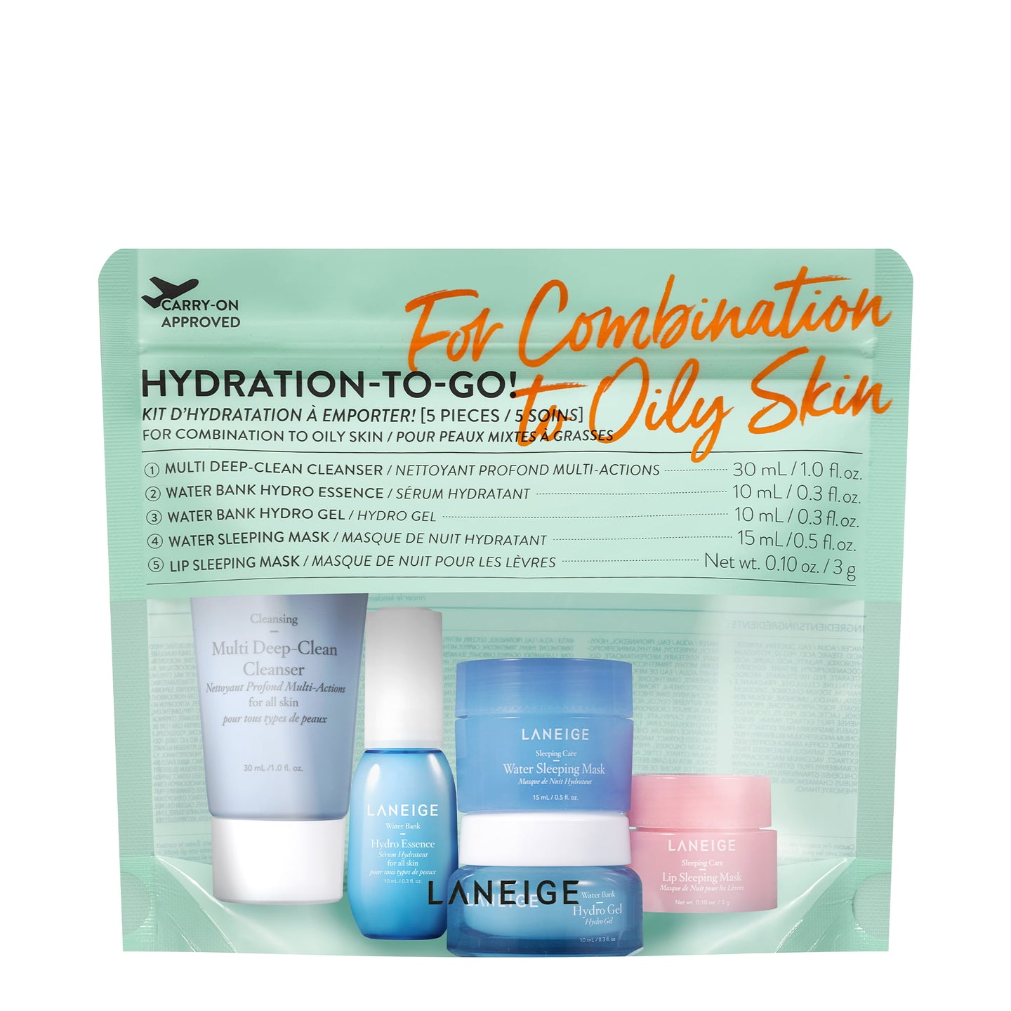 Hydration-To-Go! (Combination to Oily Skin)