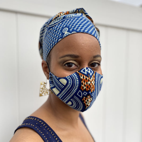 Head Wrap and Face Mask