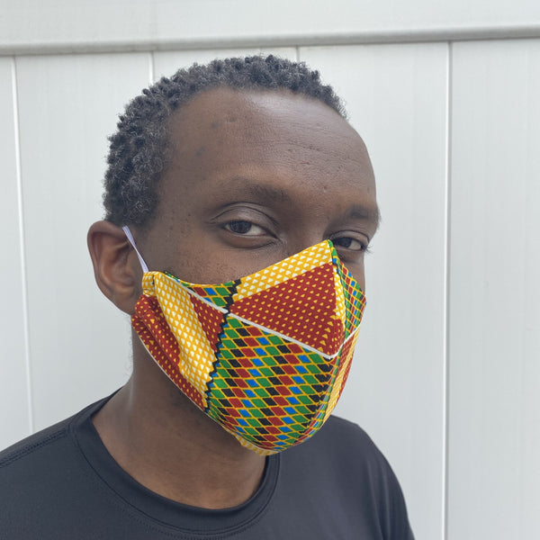 Kente Face Masks