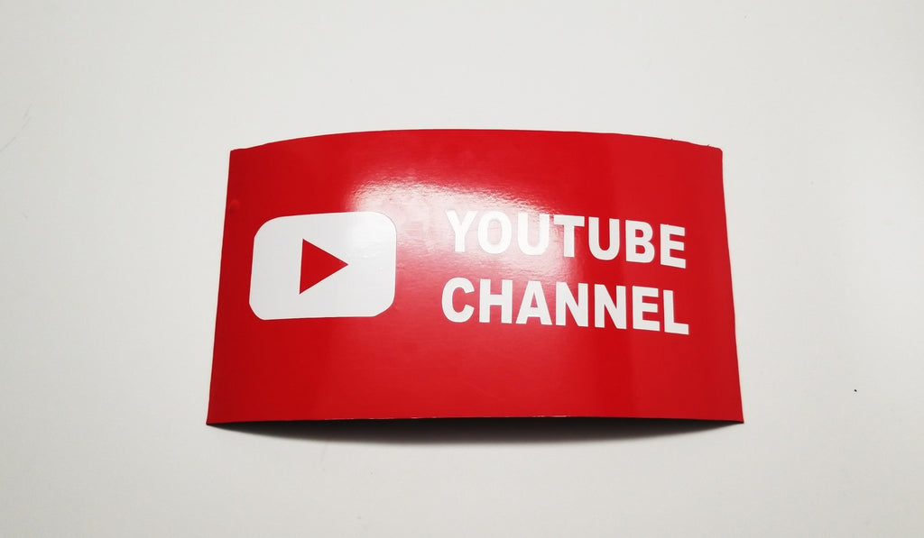 Square youtube magnet cut out - OGRAPHICS