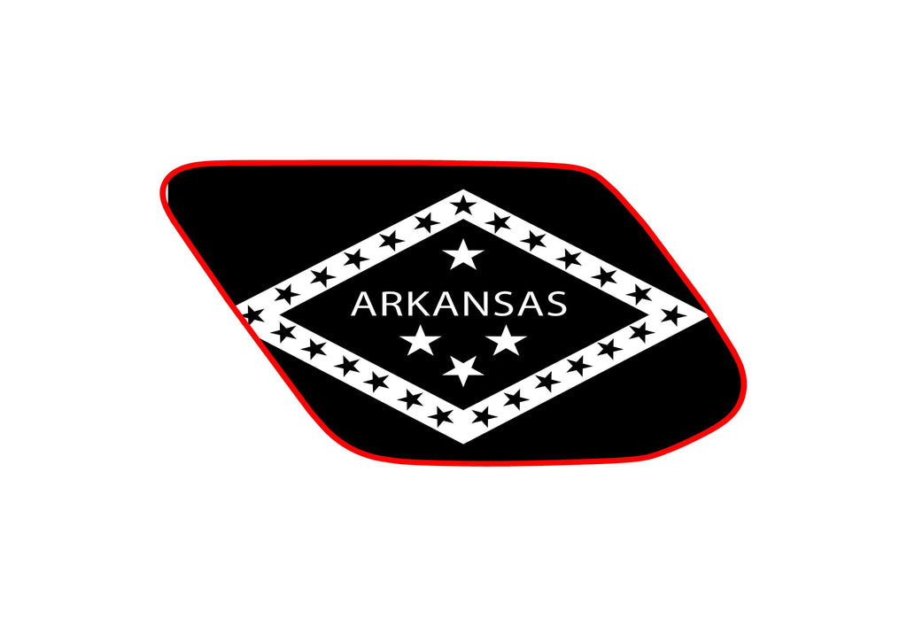 Arkansas state flag 4runner 5th 4TH gen 3rd Gen  ( precut ) - OGRAPHICS
