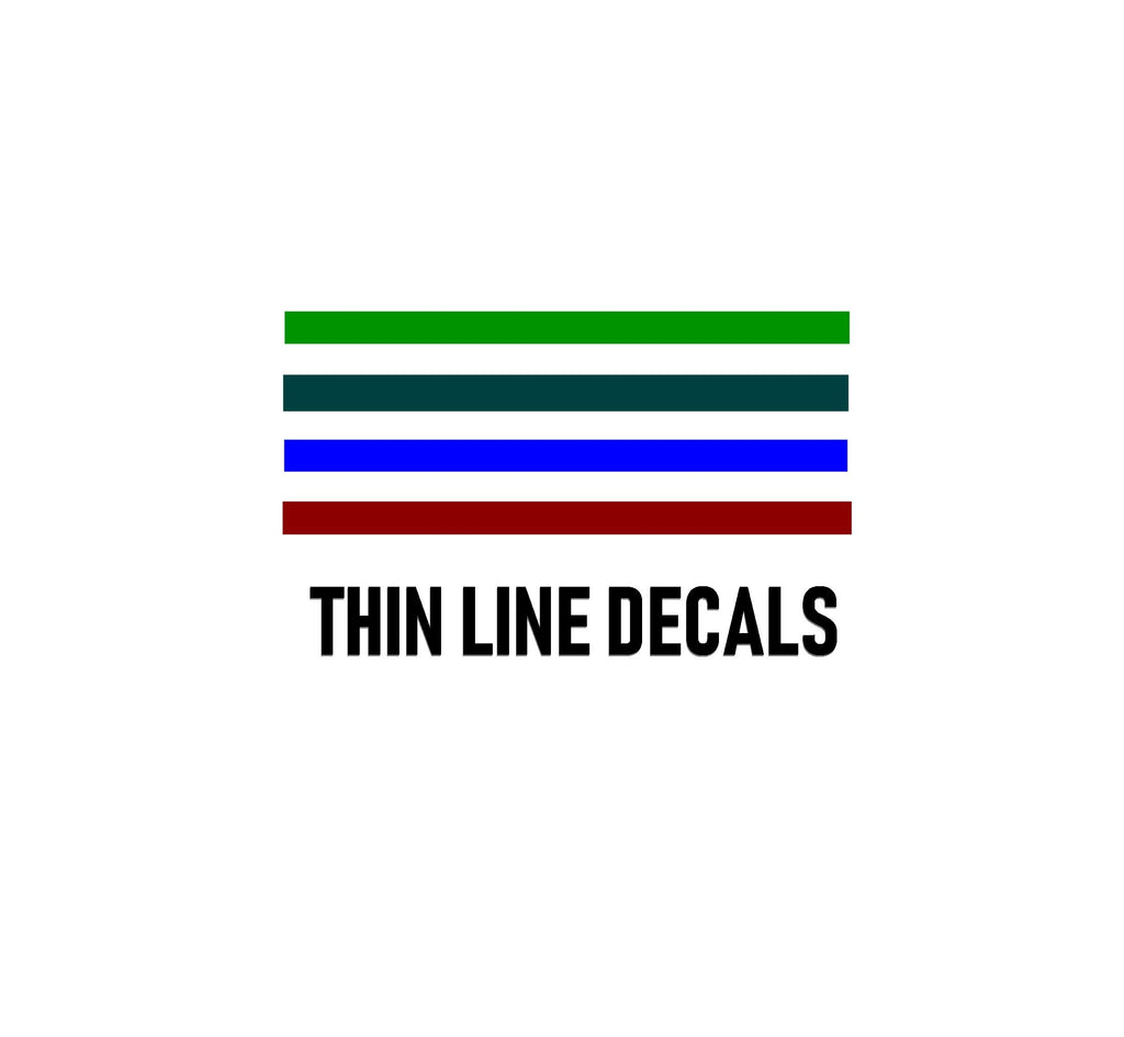 THIN LINE DECALS - OGRAPHICS