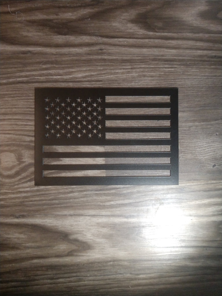 American flag US magnet cut out - OGRAPHICS