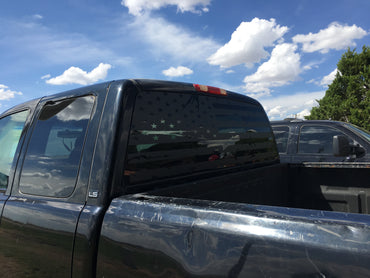 Chevy Silverado Distress flag decal - OGRAPHICS