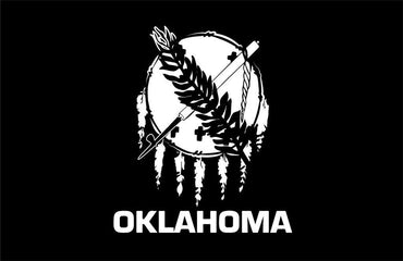 Oklahoma flag decal / sticker / graphics - OGRAPHICS