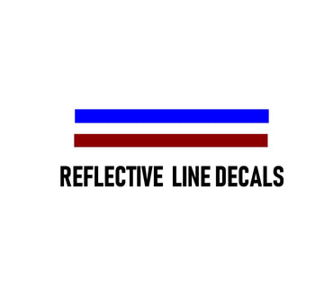 Reflective LINE DECALS