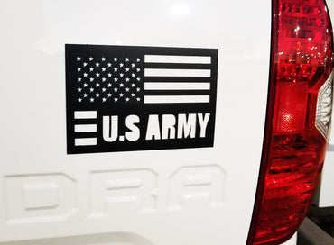 American flag US army magnet cut out - OGRAPHICS
