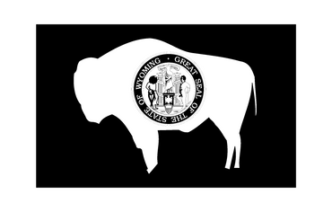 Wyoming flag - OGRAPHICS