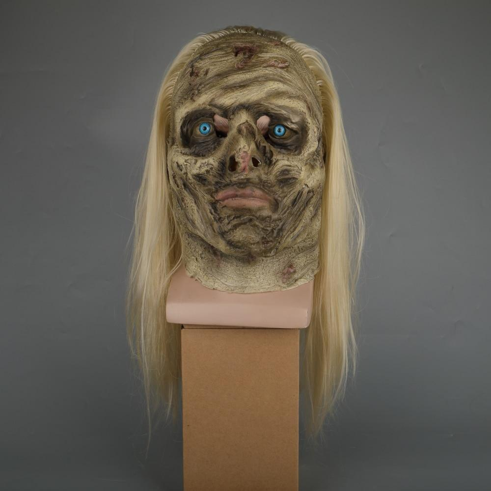 Zombie Mask The Walking Dead Alpha Whisper Dead Walkers Halloween Mask  Latex Props New Cosplay Scary Mask