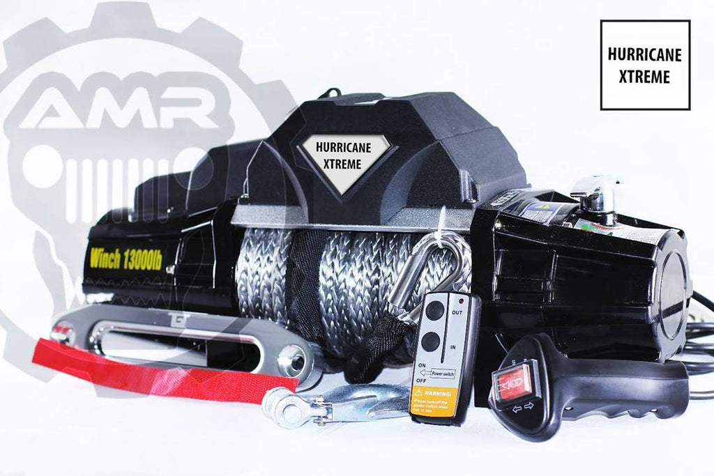 Hurricane Winch 13000LB For Jeep Wrangler