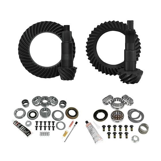 Yukon Complete Gear and Kit Package for Jeep Wrangler JL & JT (Rubicon-4.56)