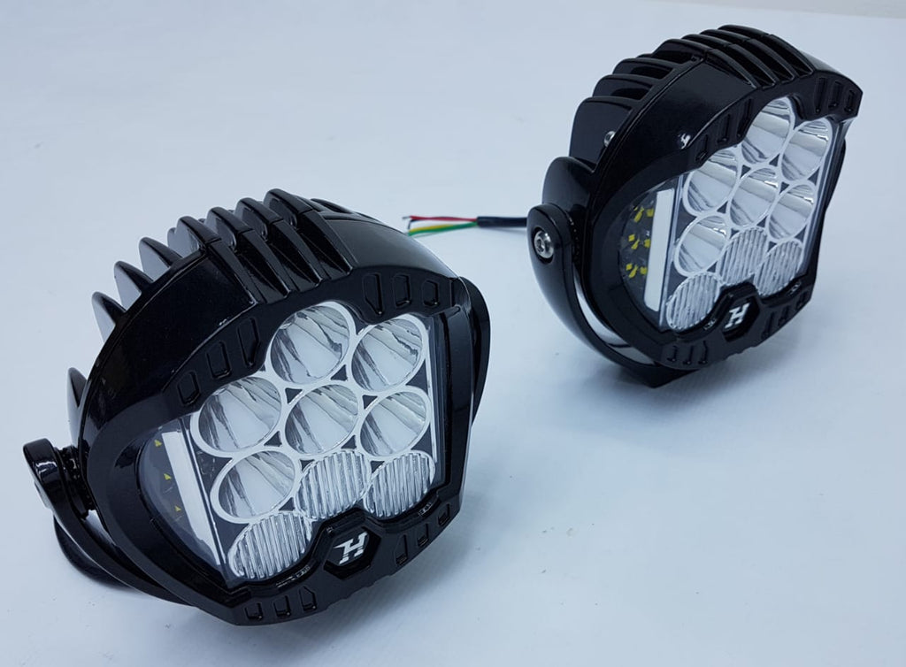 HURRICANE COMBO BEAM LED Work Lights for Jeep Wrangler