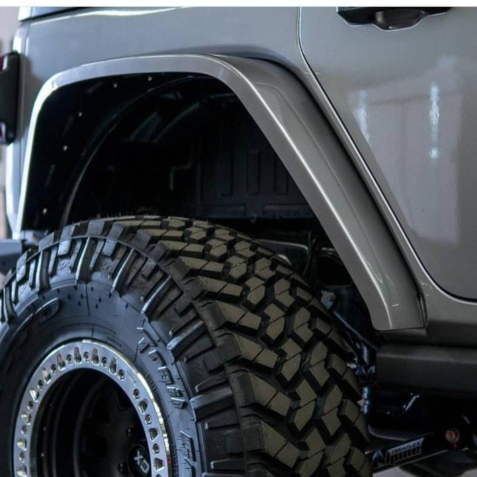 Flat Fenders for Jeep Wrangler JL