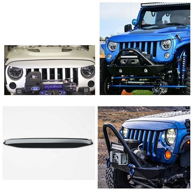 Grille Cover for Jeep Wrangler JK