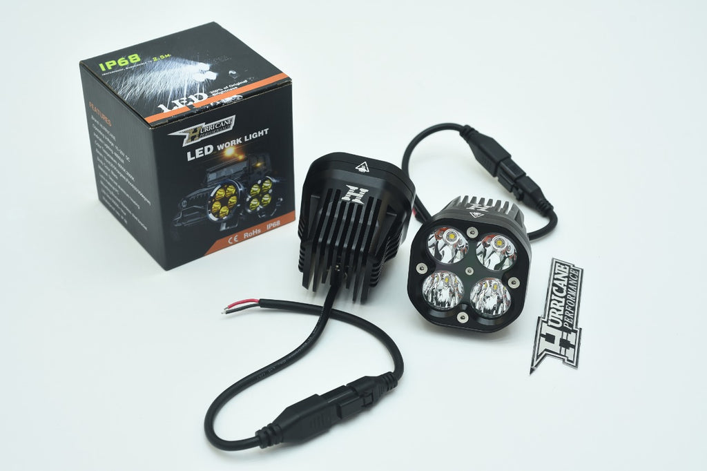 HURRICANE LED CNC COMBO Work Lights for Jeep Wrangler