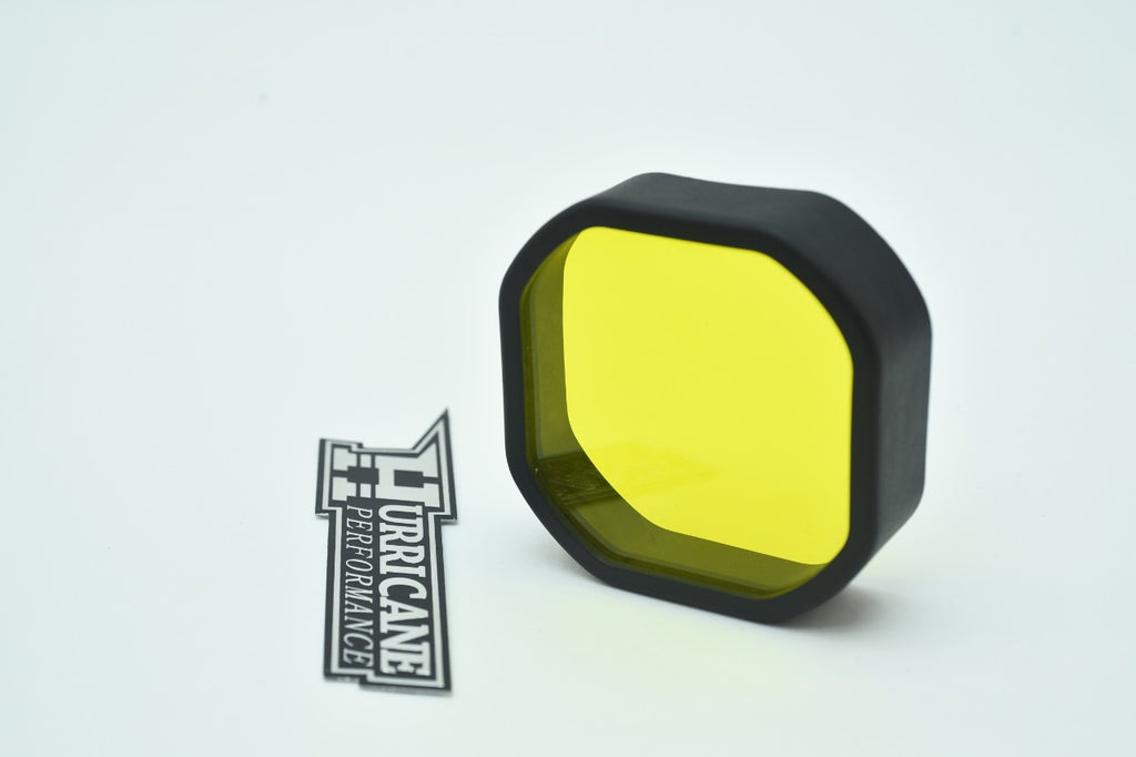HURRICANE CNC WORK LIGHT YELLOW COVER FOR JEEP WRANGLER