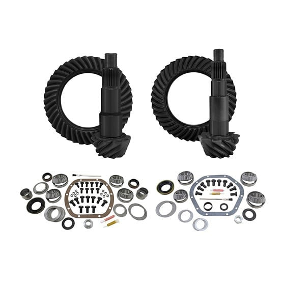 Yukon Gear & Installation Kit Package for Jeep Wrangler JK (Non-Rubicon)