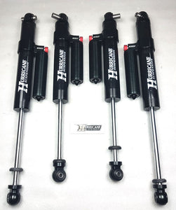 "Hurricane Performance Shocks 2.5"", With Reservoir, Adjustable for Jeep Wrangler JL"
