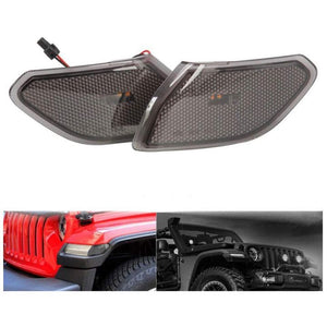 AMR LED Side Reflector Marker Lights for Jeep Wrangler JL/JT