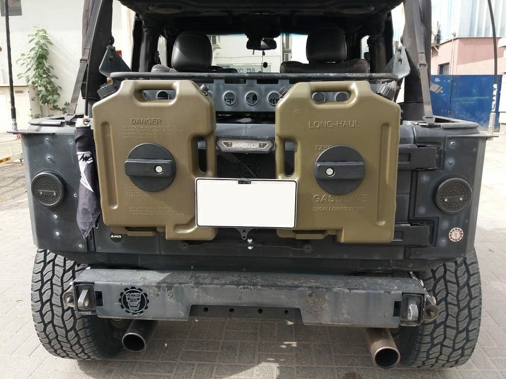 Jerry Can Holder for Jeep Wrangler JK