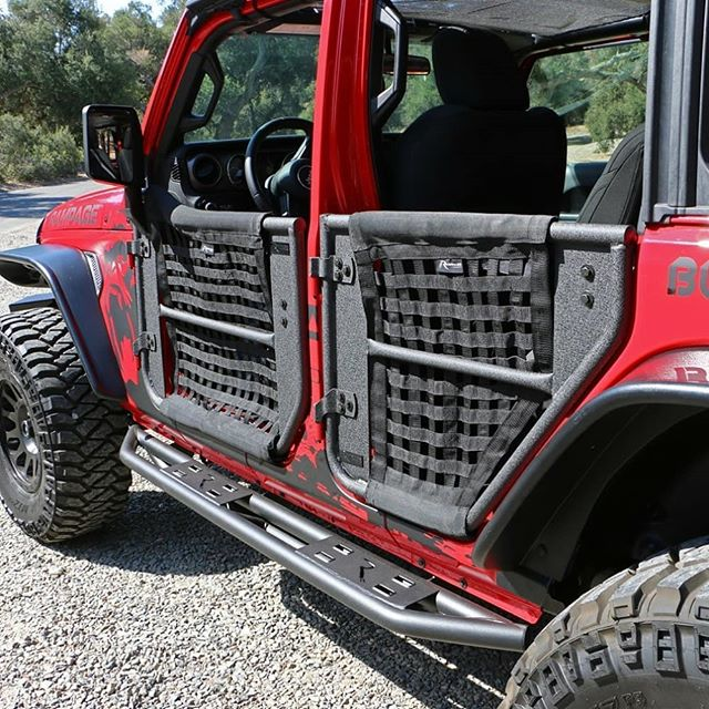 AMR Tube doors with mesh net for Jeep Wrangler JL/JT