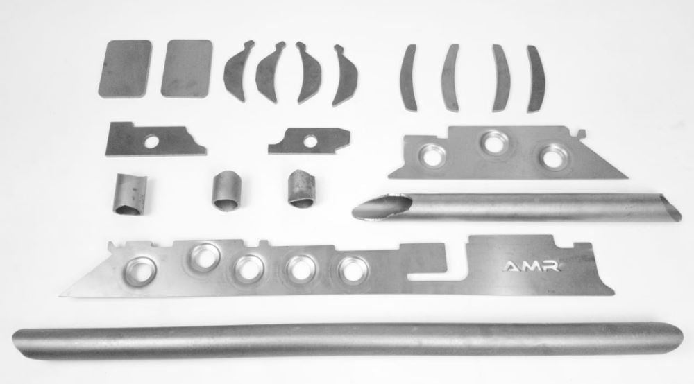 Reinforcement Kit for front axle housing for Jeep Wrangler JK/JL