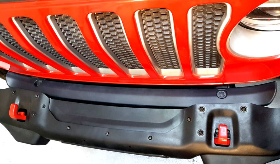 Front Bumper Gap Cover for Jeep Wrangler JL/JT