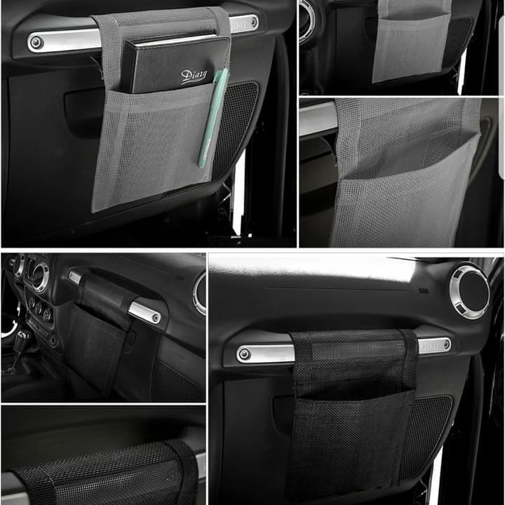 Co-pilot Handle Storage Bag for Jeep Wrangler