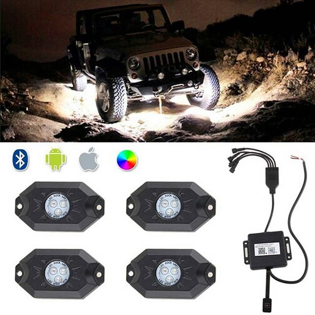 Under car lighting for Jeep Wrangler