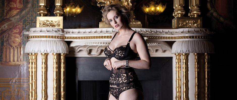 Andromeda luxury DD+ lingerie collection