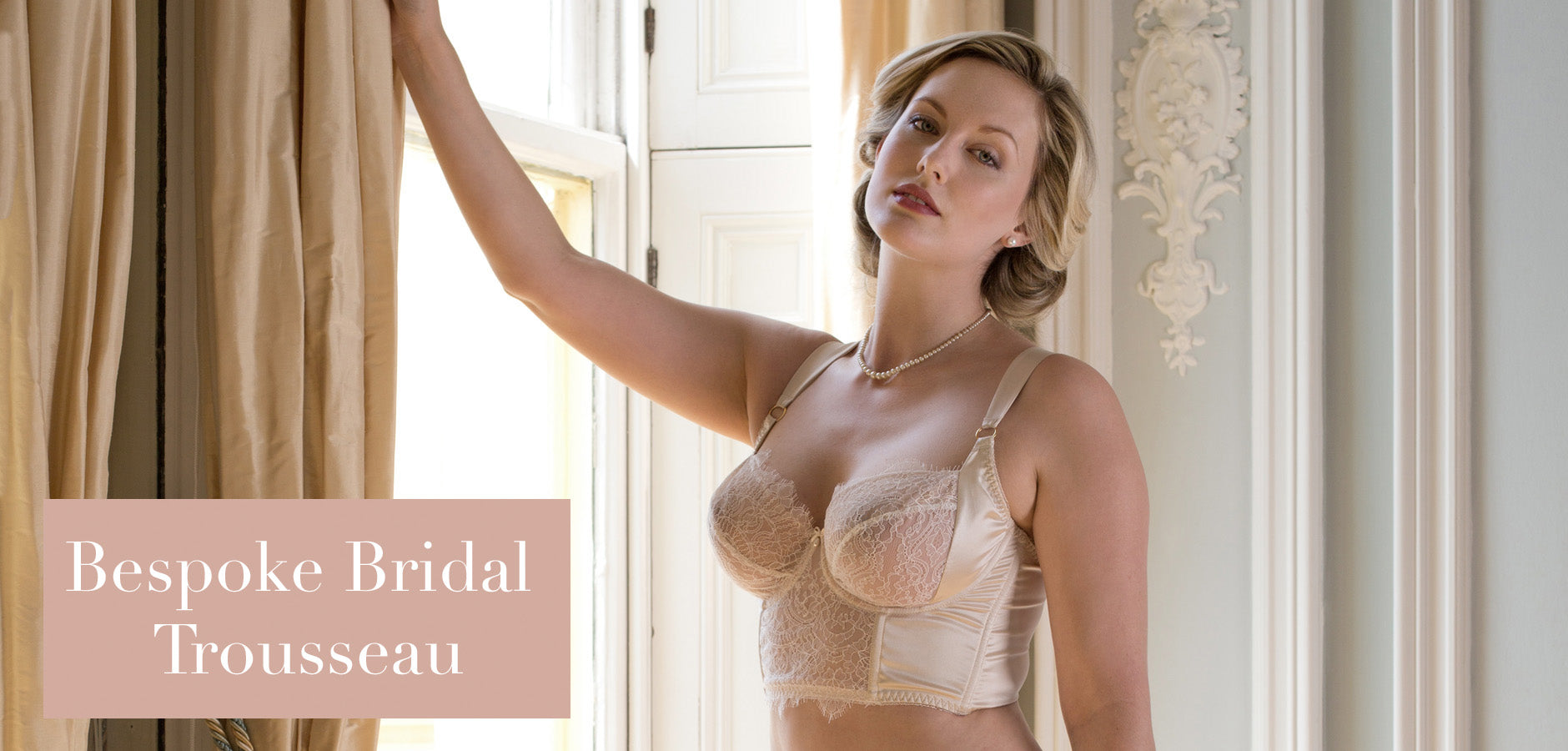 Luxury custom bridal lingerie