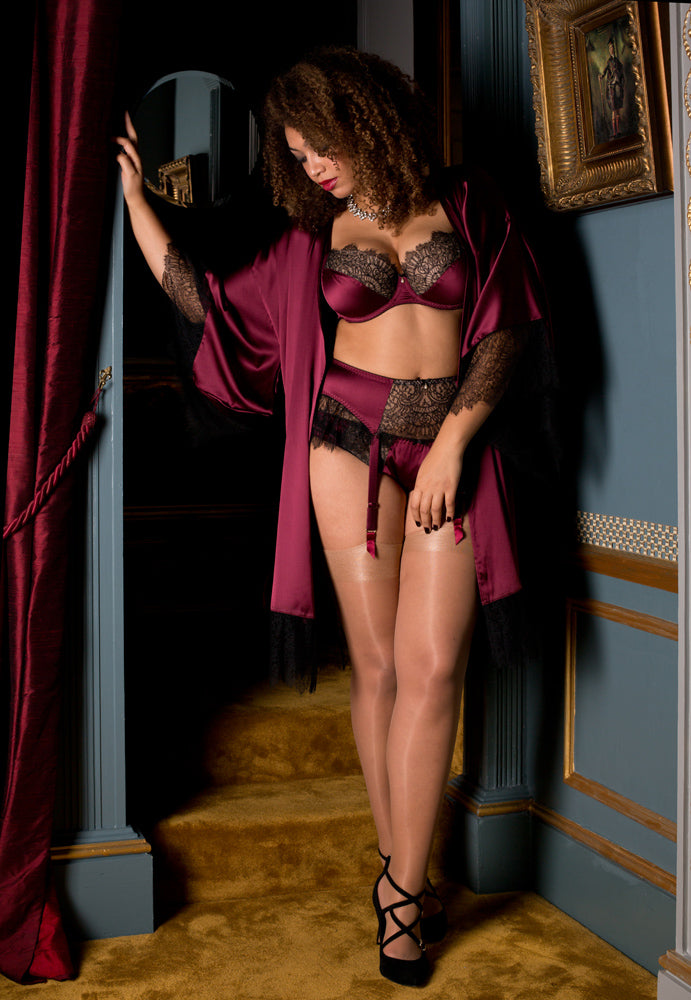 Eleanor Damson DD+ Lingerie set