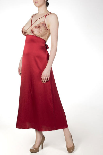 Juliette Draped Back Gown by Harlow & Fox