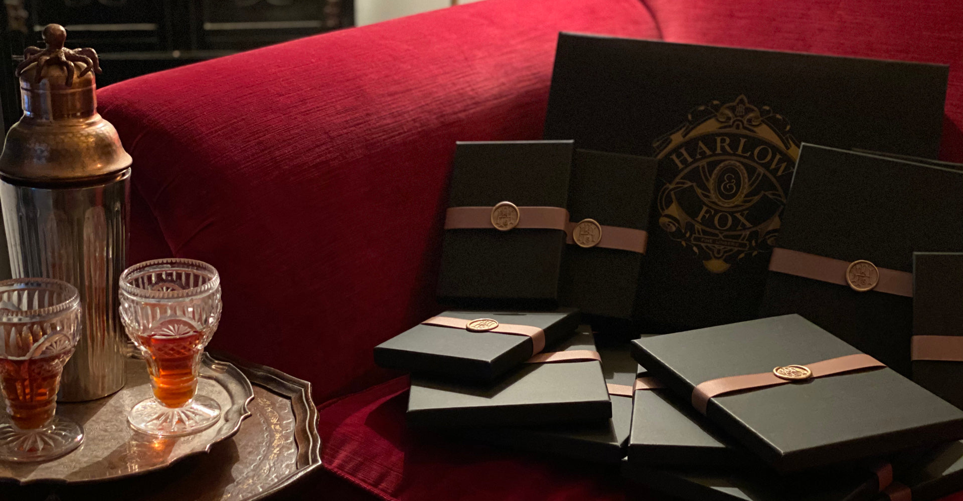 Luxury lingerie gift box set including 12 gifts