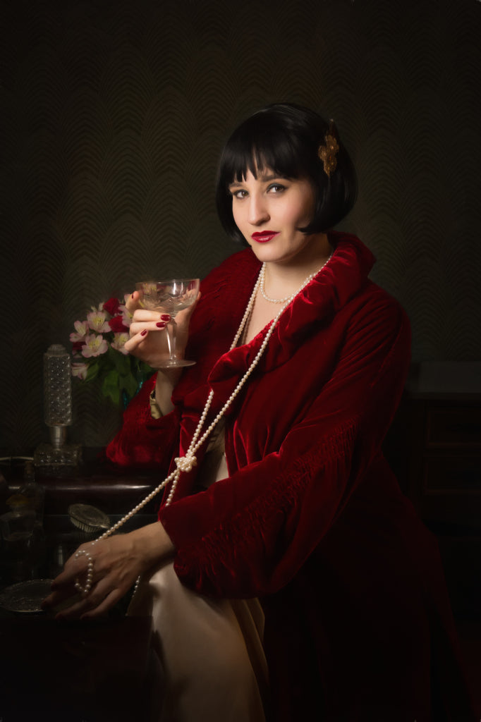 Sweet Nothings Miss Fisher 1920s Lingerie Shoot