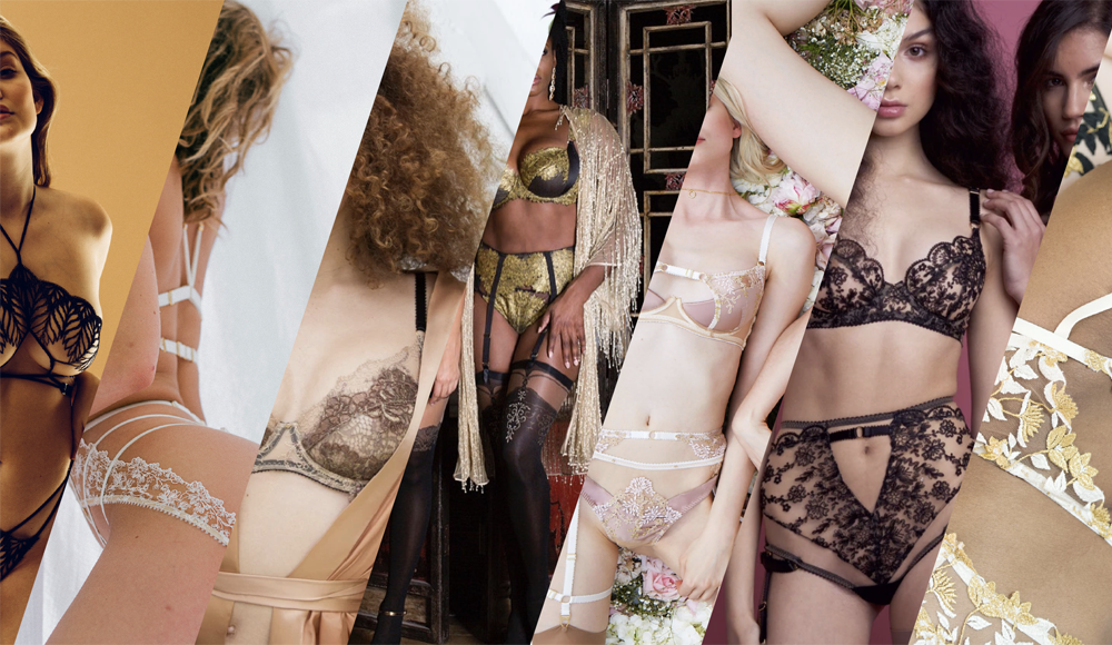 Best lingerie brands by bloggers winners, with multiple luxury lingerie brands
